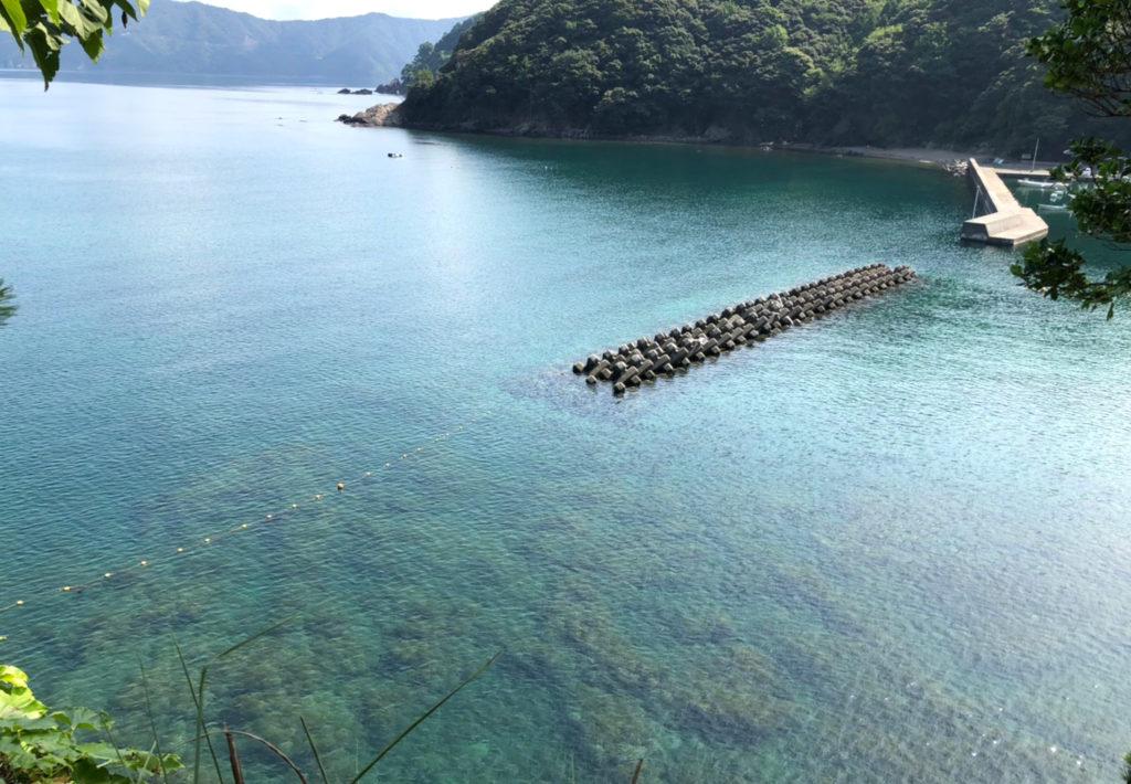 福井県小浜市志積海岸
