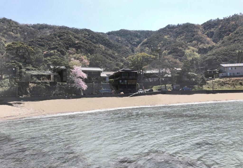 福井県小浜市海からのイメージ